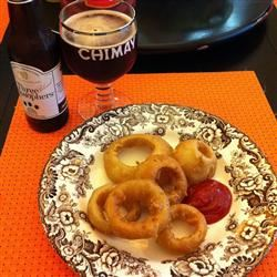 Beer-Batter Onion Rings ELVISCOSTELLOFAN