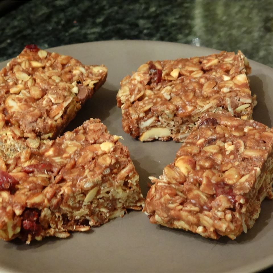 Gluten-Free Granola Bars cookingmama