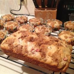 Rhubarb Bread I emily.briggs