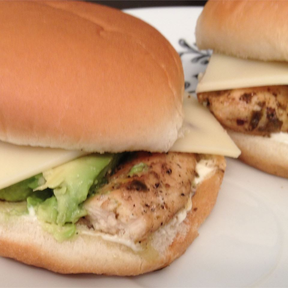 Summer Chicken Burgers