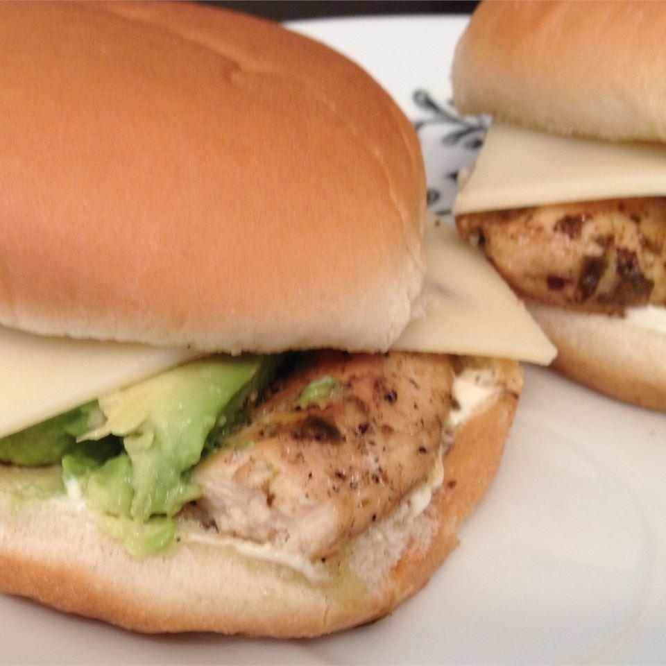 Summer Chicken Burgers