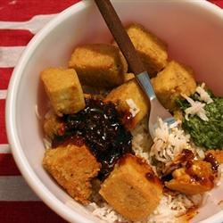 Breaded, Fried, Softly Spiced Tofu Miss Sriri