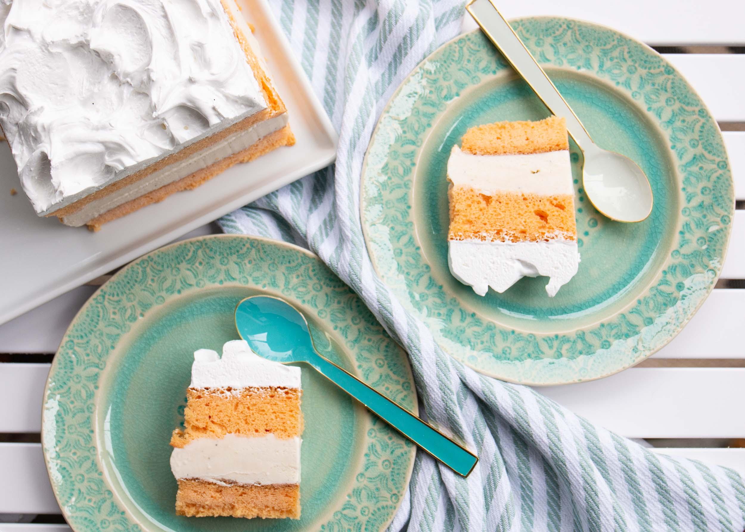 Creamsicle® Ice Cream Cake image
