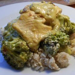 Curry Salmon with Broccoli kellieann