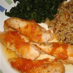 Apricot Chicken II Marsha Timblin