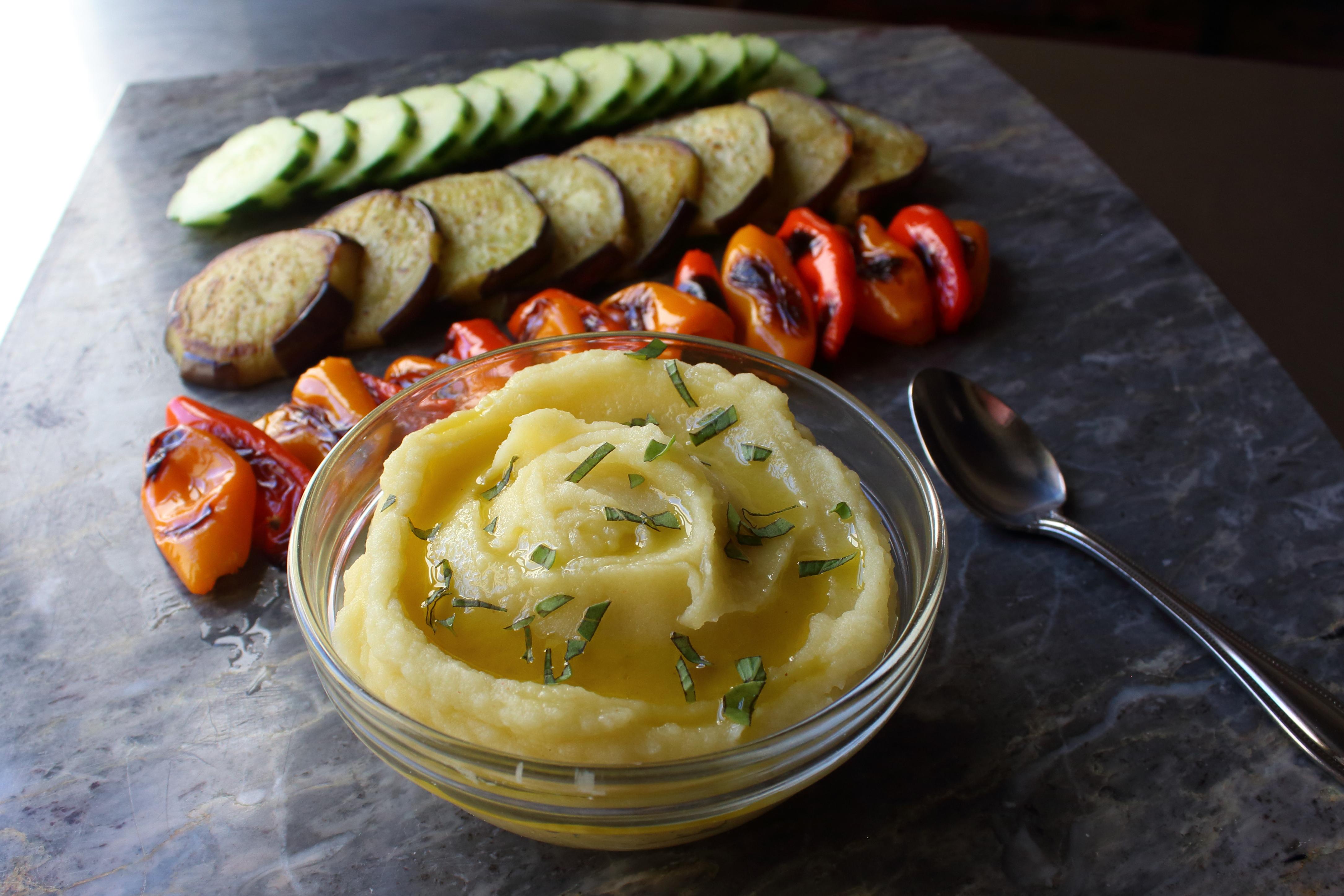 Skordalia (Greek Garlic Potato Dip) image