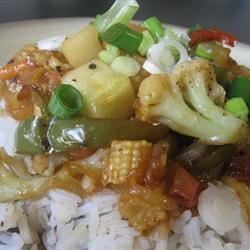 Stir-Fried Sweet and Sour Vegetables