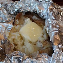Campfire Baked Potatoes Lowcountry Chef