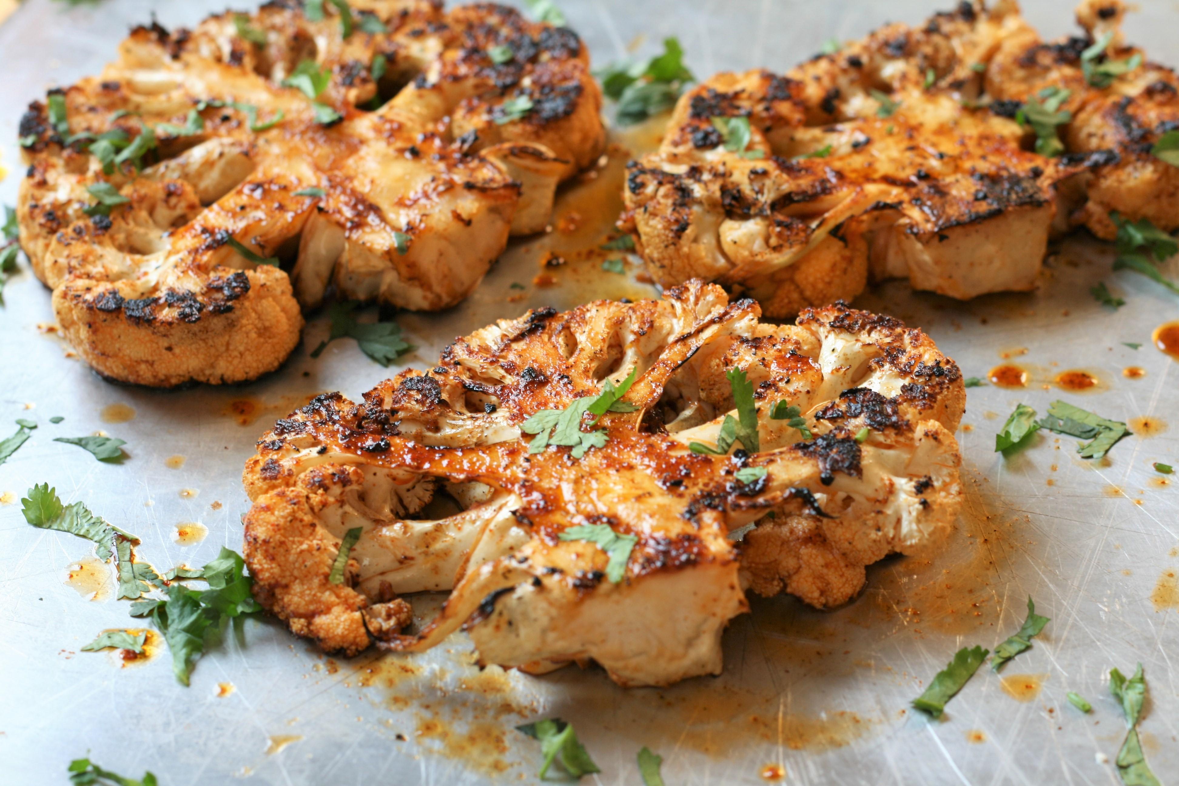 Grilled Cauliflower Steaks_image
