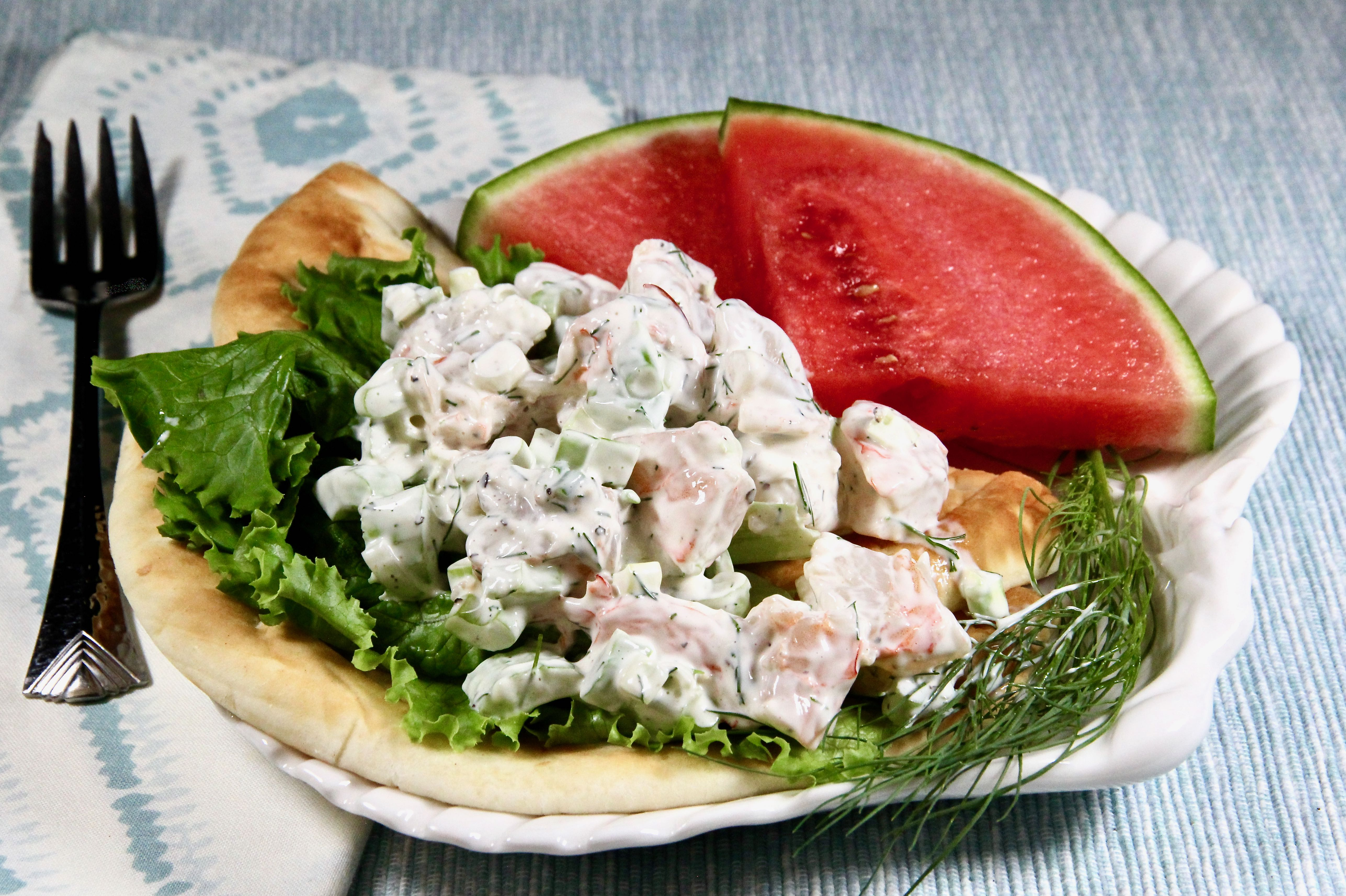 Dill and Shrimp Salad_image