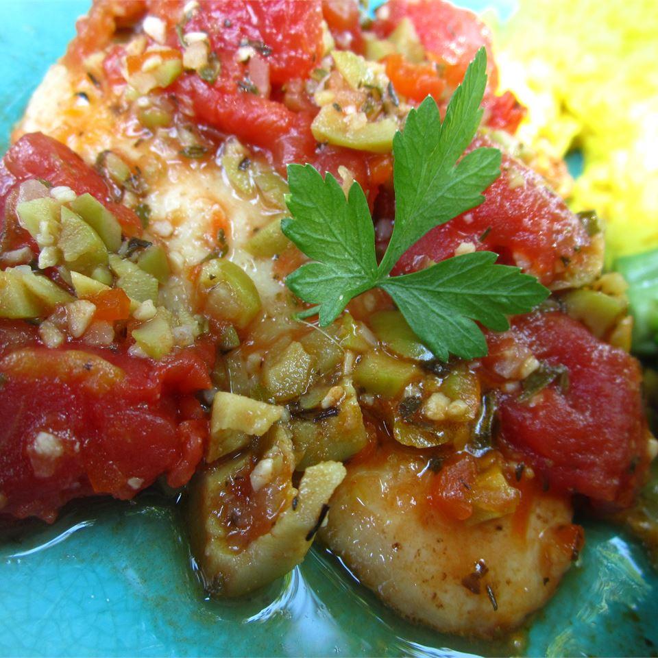Mediterranean Chicken Robyn Webb