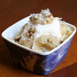 Warm Tropical Banana Ice Cream Topping KATHYMOSQUEDA