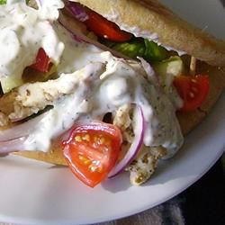 Easy Chicken Gyro