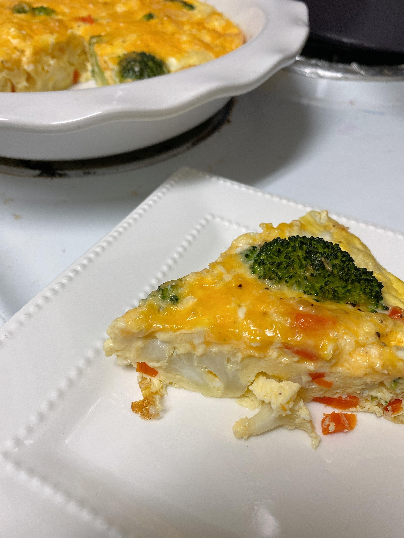 Vegetable Frittata With Cheddar Allrecipes