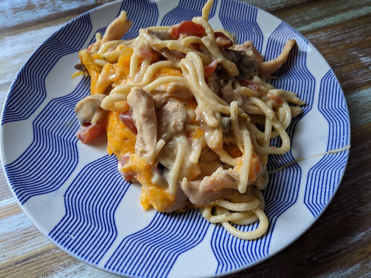 Chicken Spaghetti Bake image