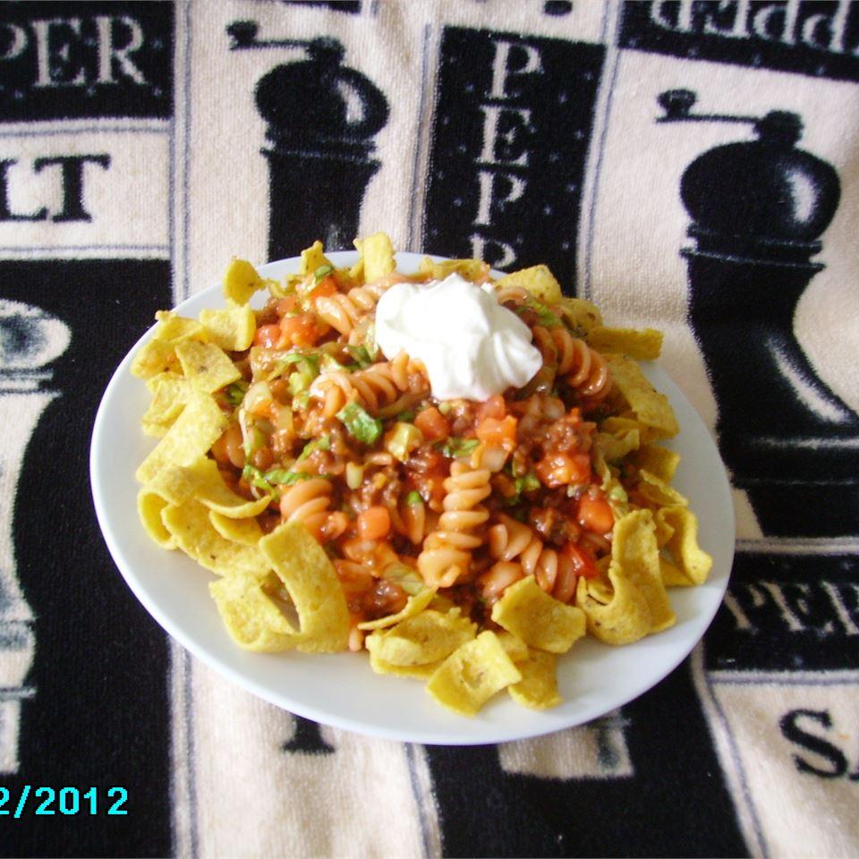 Taco Pasta Salad image