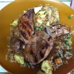 Thai Style BBQ Chicken terca