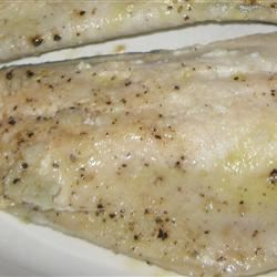 Trout with Lime and Thyme