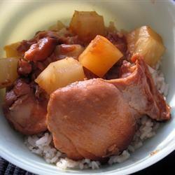 Slow Cooker Honey Garlic Chicken TORA.V