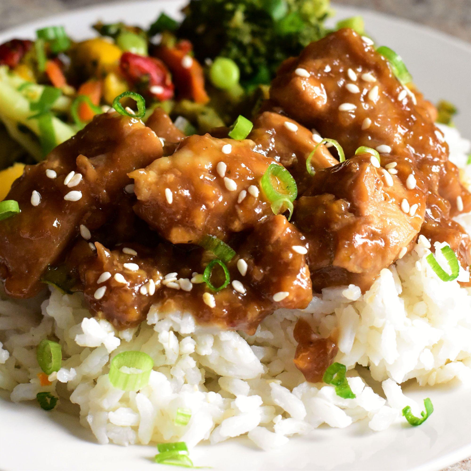 One Skillet Sesame Chicken Thighs Allrecipes