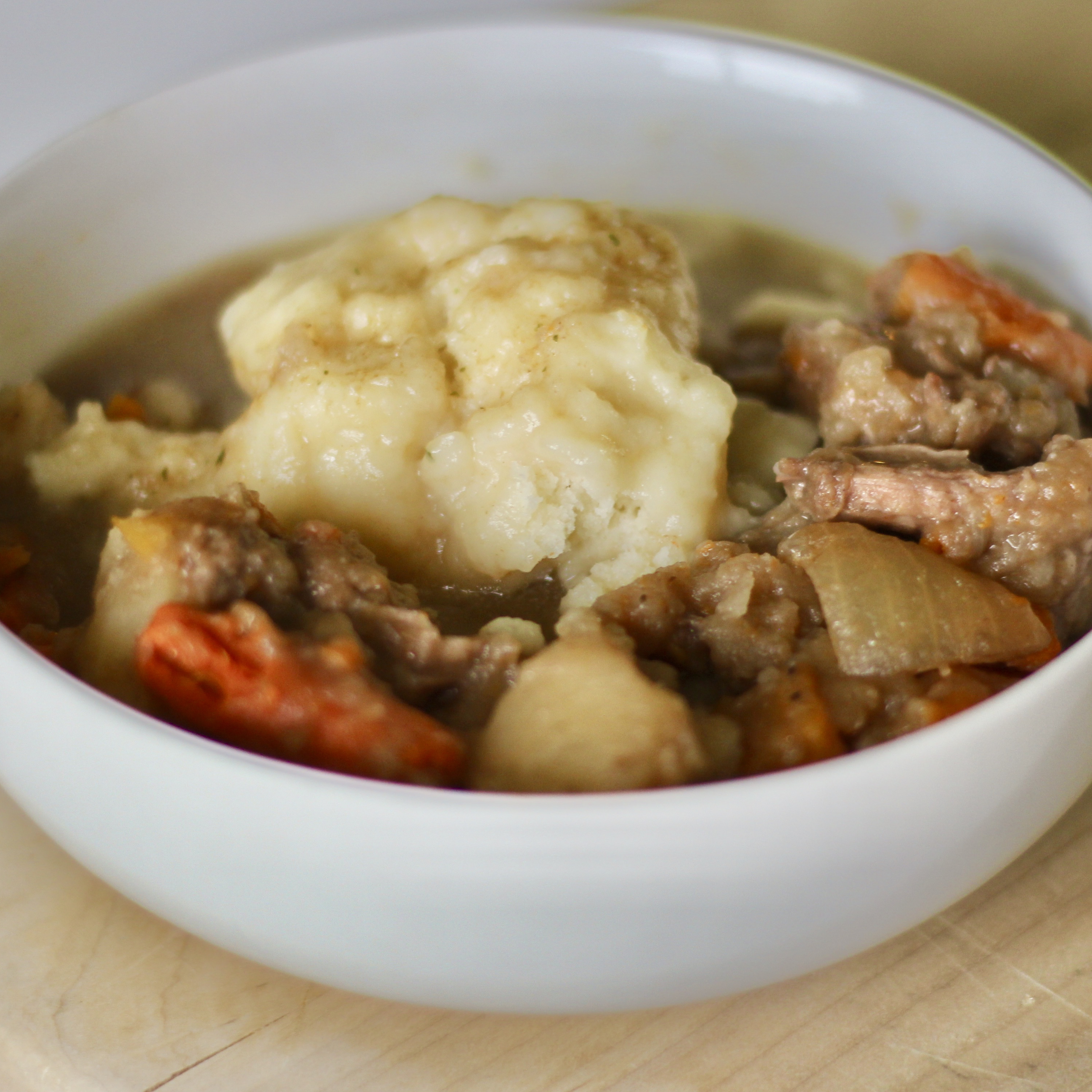 Mom S Hearty Beef Stew With Dumplings Recipe Allrecipes