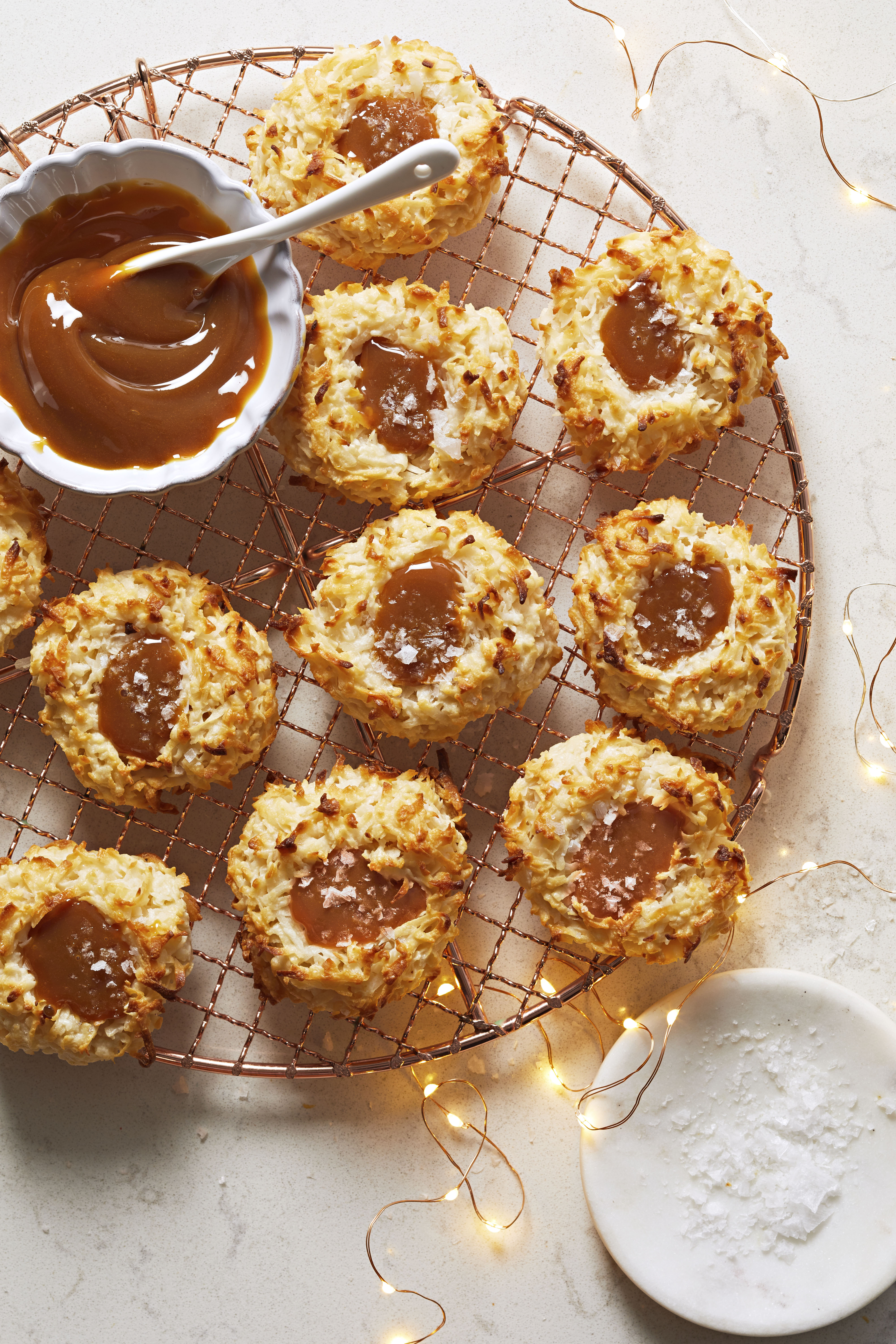 Salted Caramel Coconut Macaroons Allrecipes