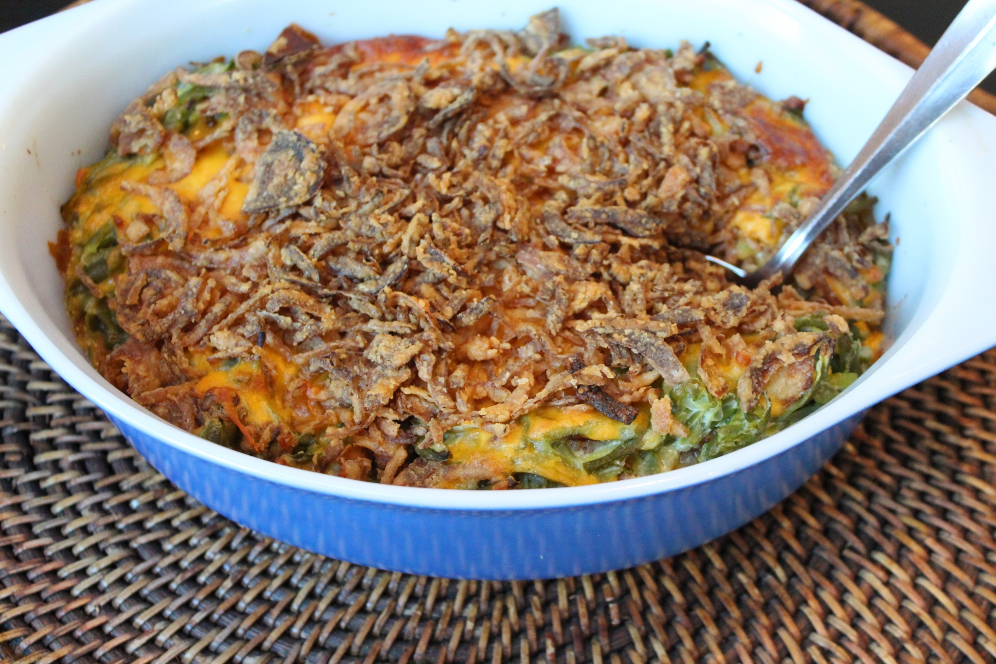Green Bean Casserole with Cheese_image