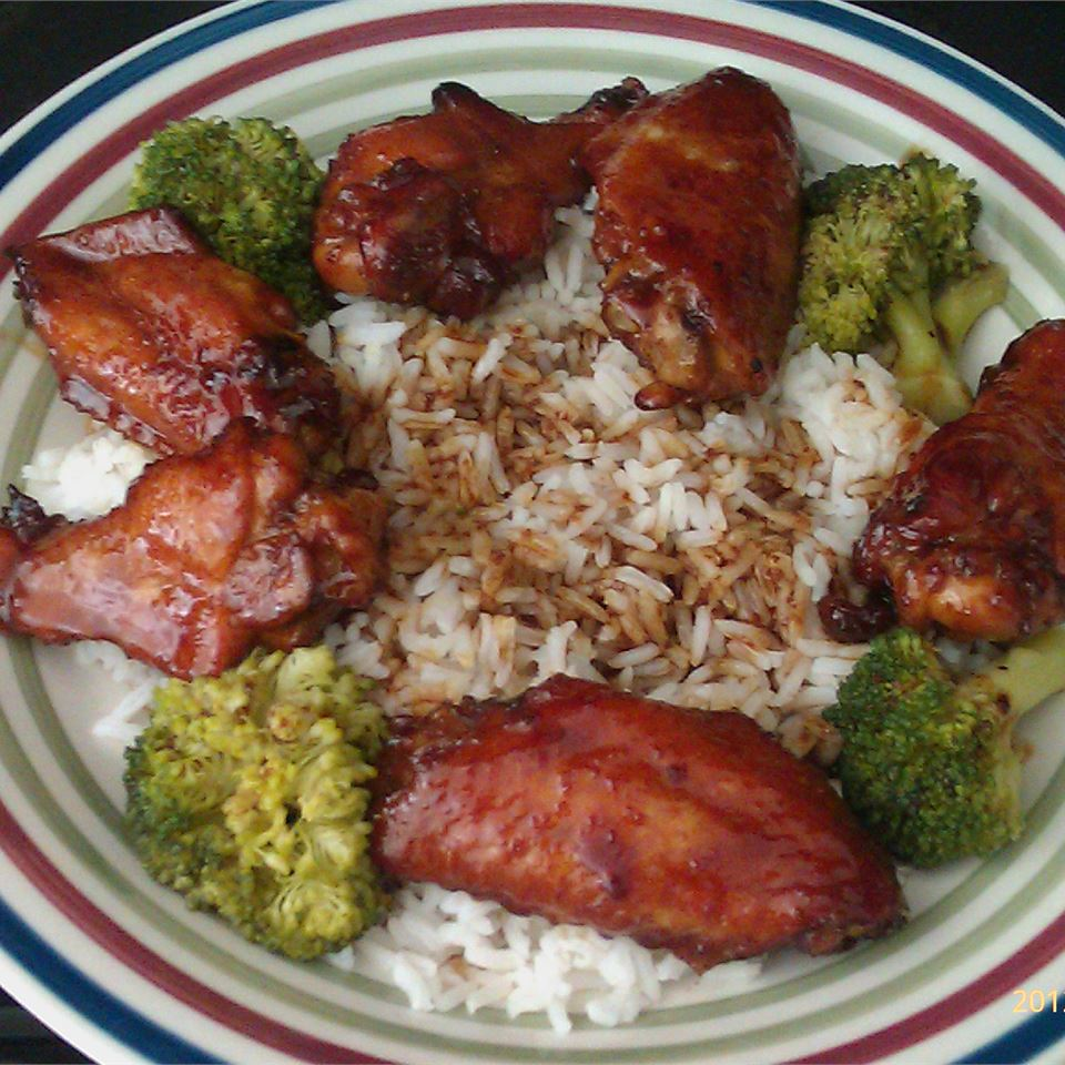 Mahogany Chicken Wings talcook1