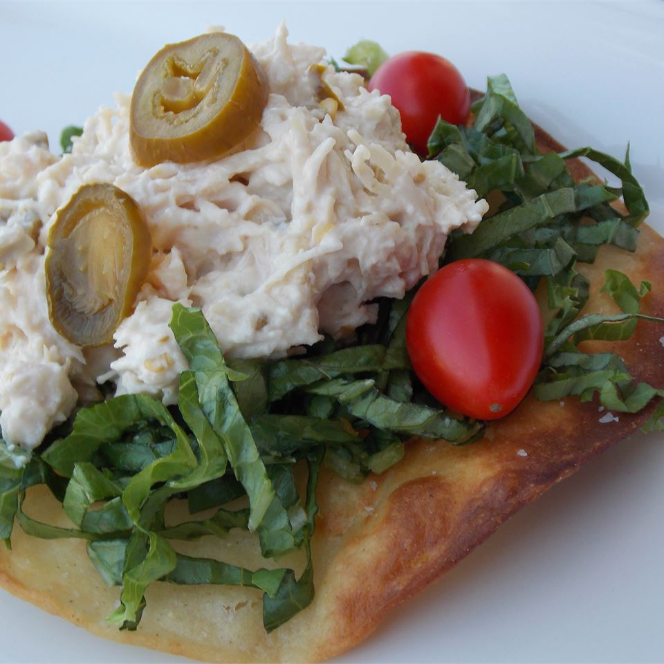 Twisted Chicken Salad with Tostadas LISATEACHER