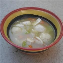 Kosher Chicken Soup with Matzo Balls