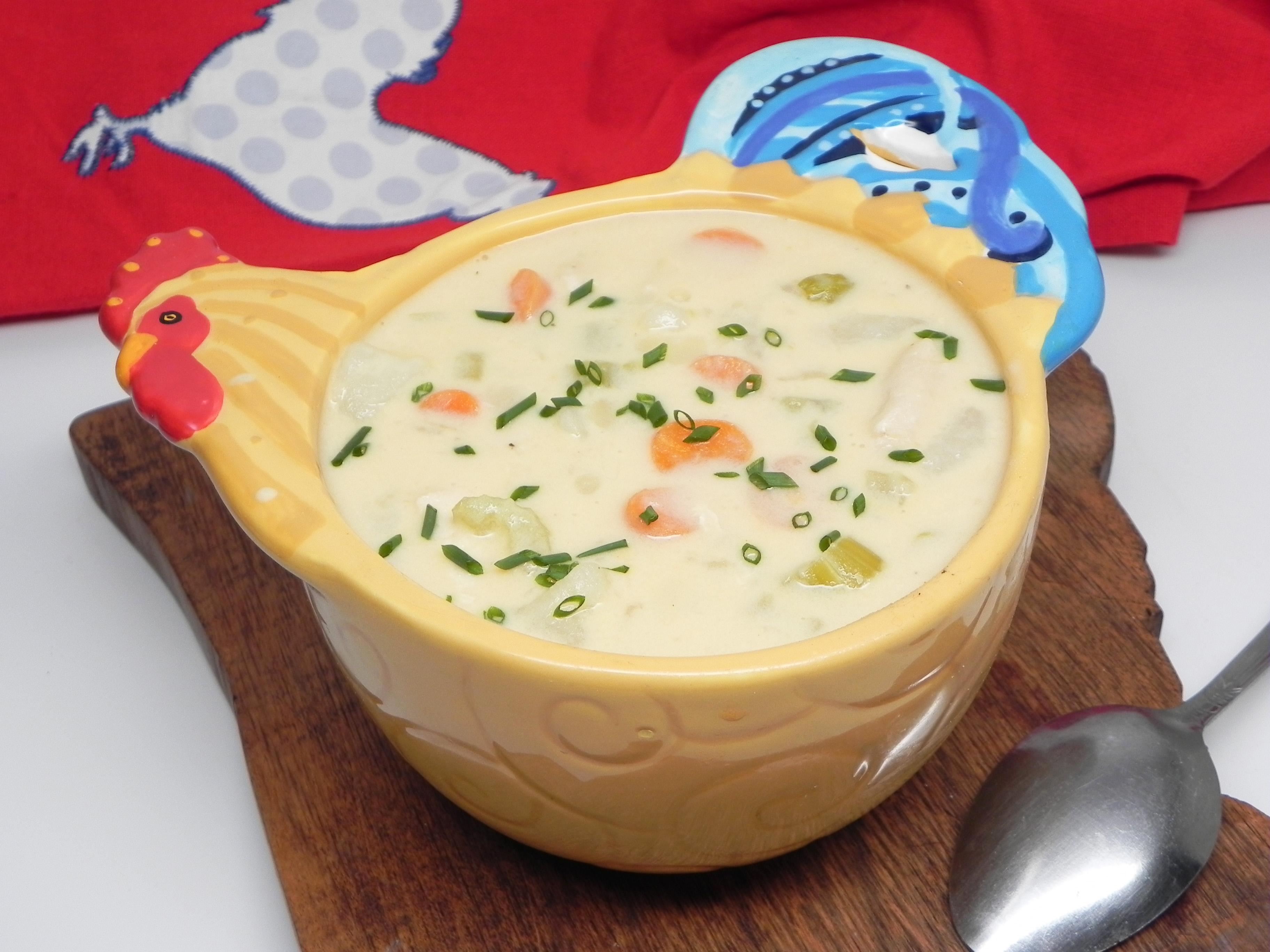 Chicken Cheese Chowder image