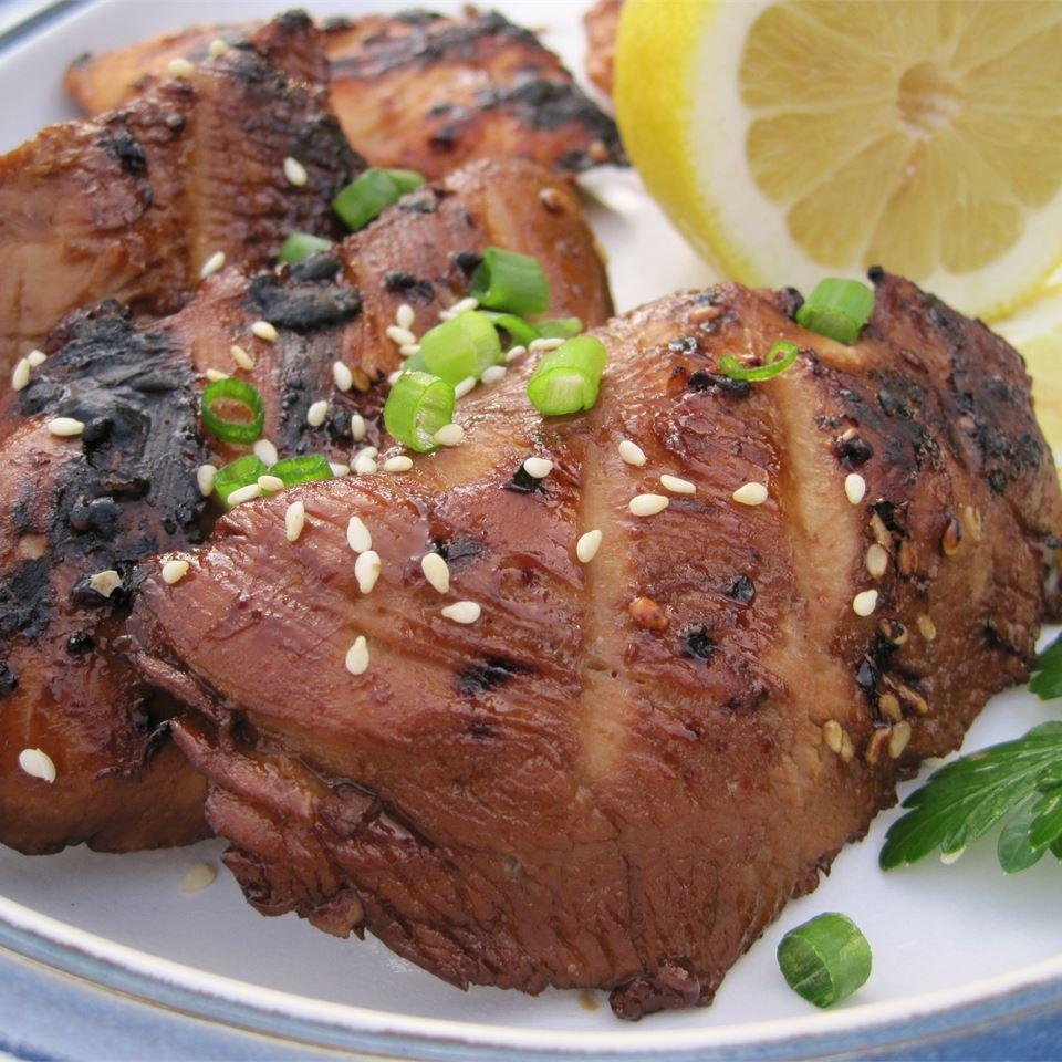 Easy Grilled Chicken Teriyaki prissycat