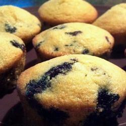 Berry-Blue Corn Muffins