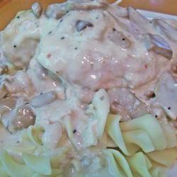 Slow Cooker Italian Chicken Alfredo wannabe chefette