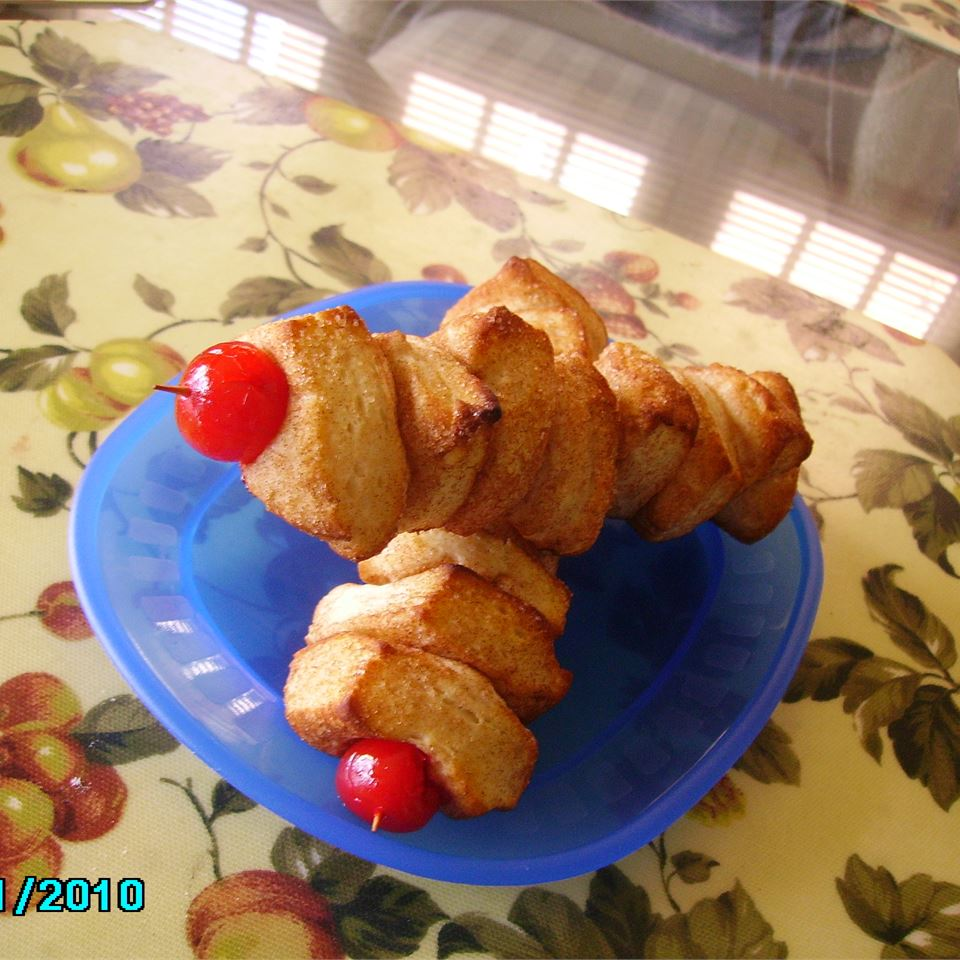 Monkey Bread Kabobs Christina