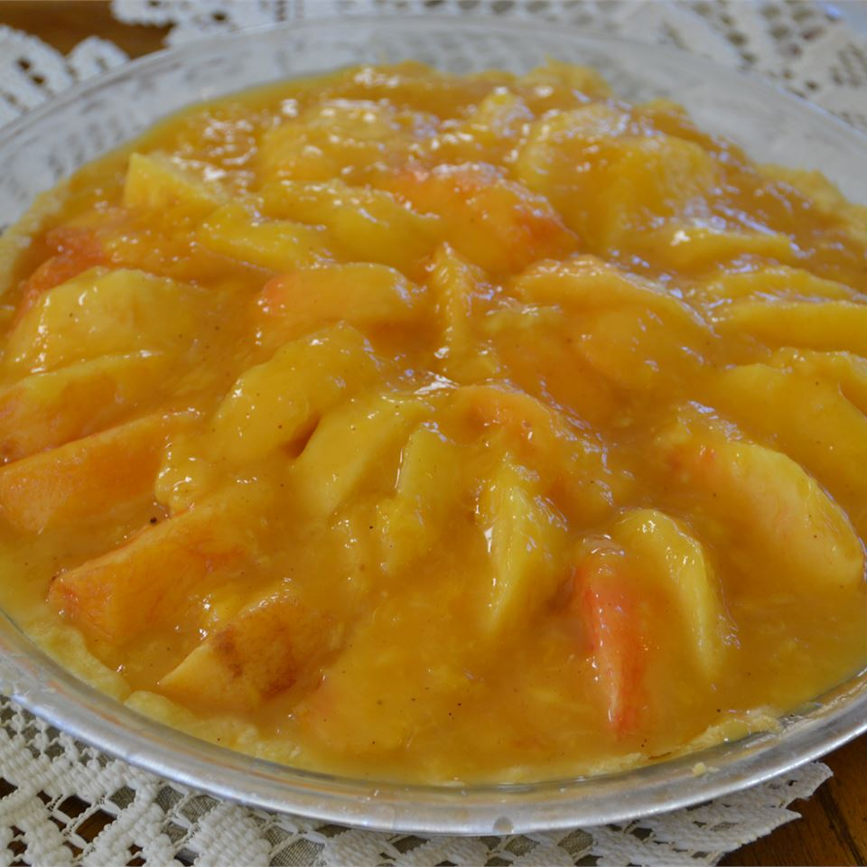 Fresh Peach Pie I