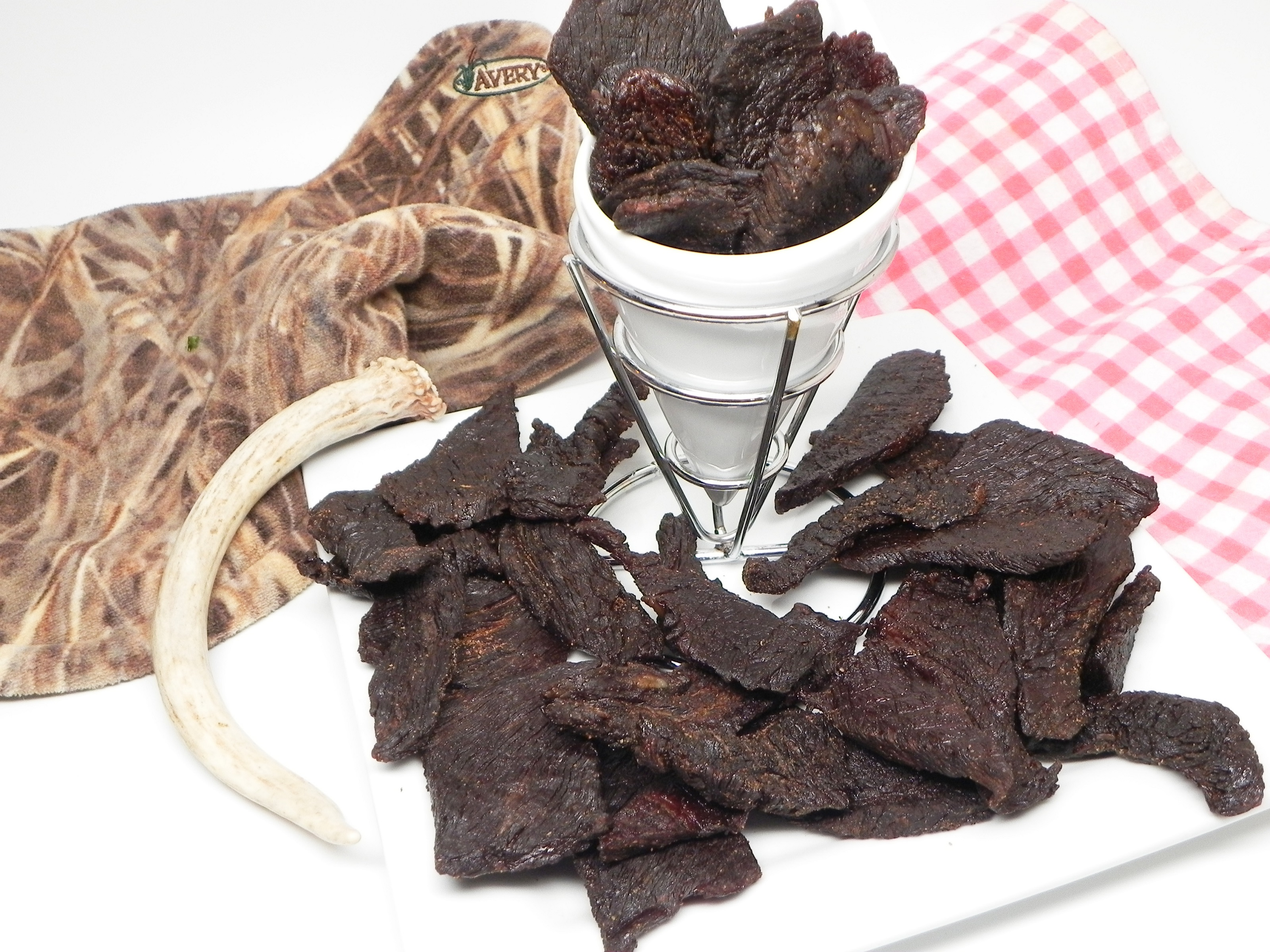 Sweet and Spicy Venison Jerky image