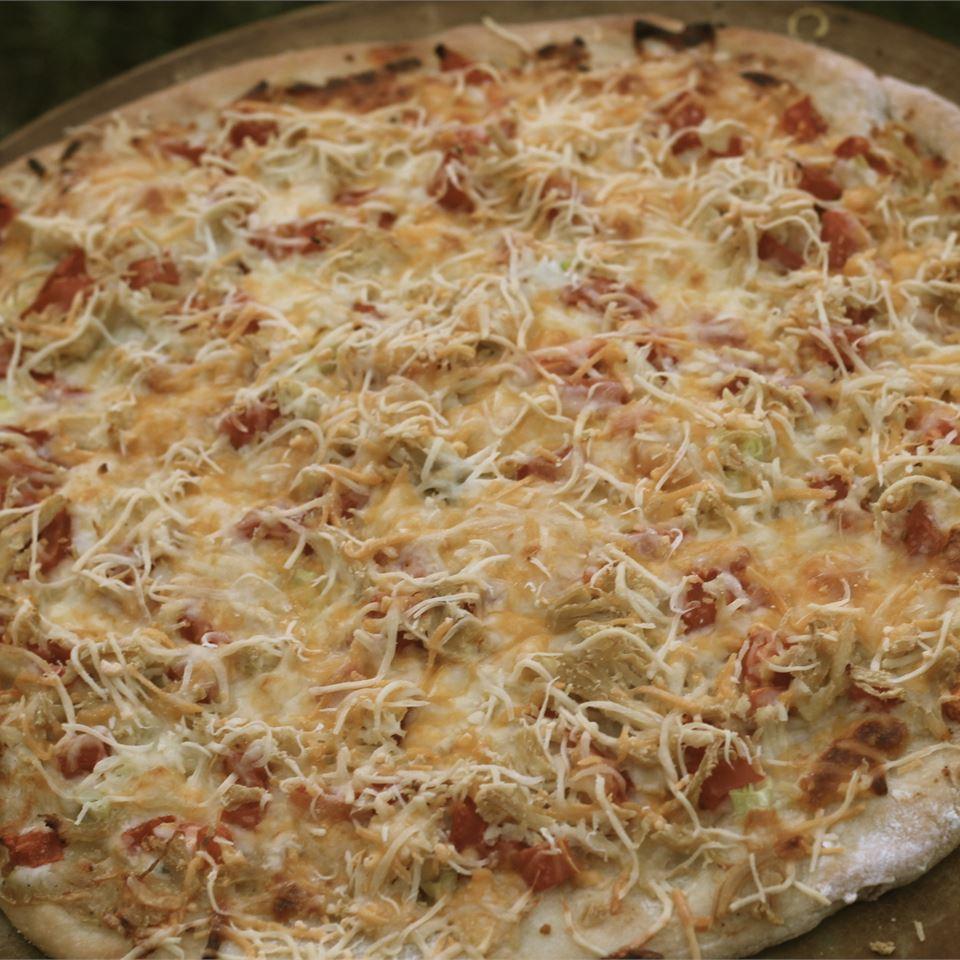 Gourmet Chicken Pizza Paula