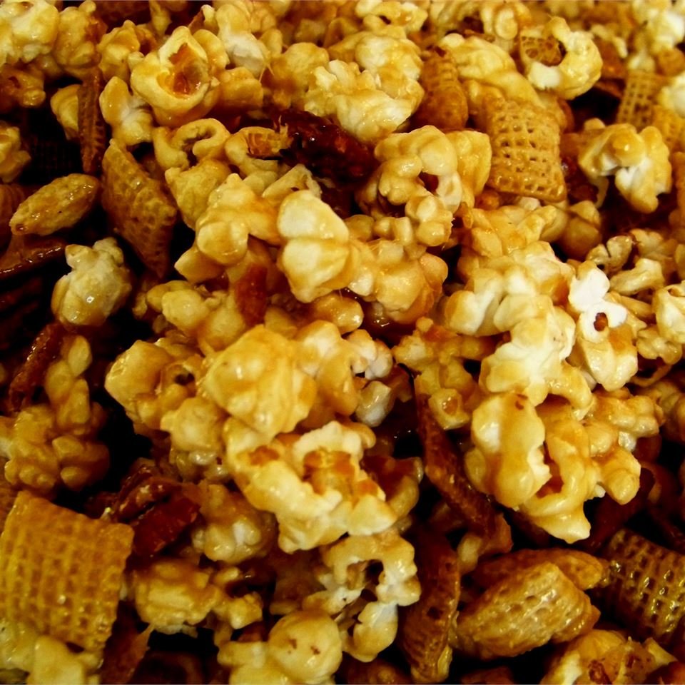 Caramel Corn Snack Mix