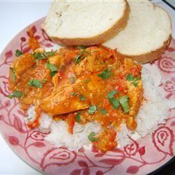 Thai Chicken Curry in Coconut Milk mariah