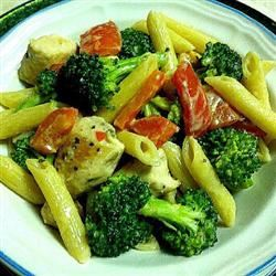 Roasted Garlic Chicken Penne ItalianSpice
