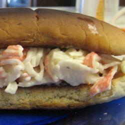 Seafood Sandwich Mrs.Williams