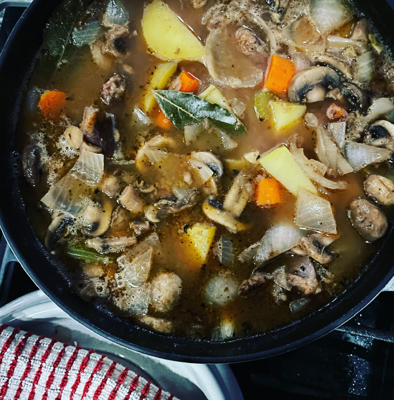 Dutch Oven Beef Stew image