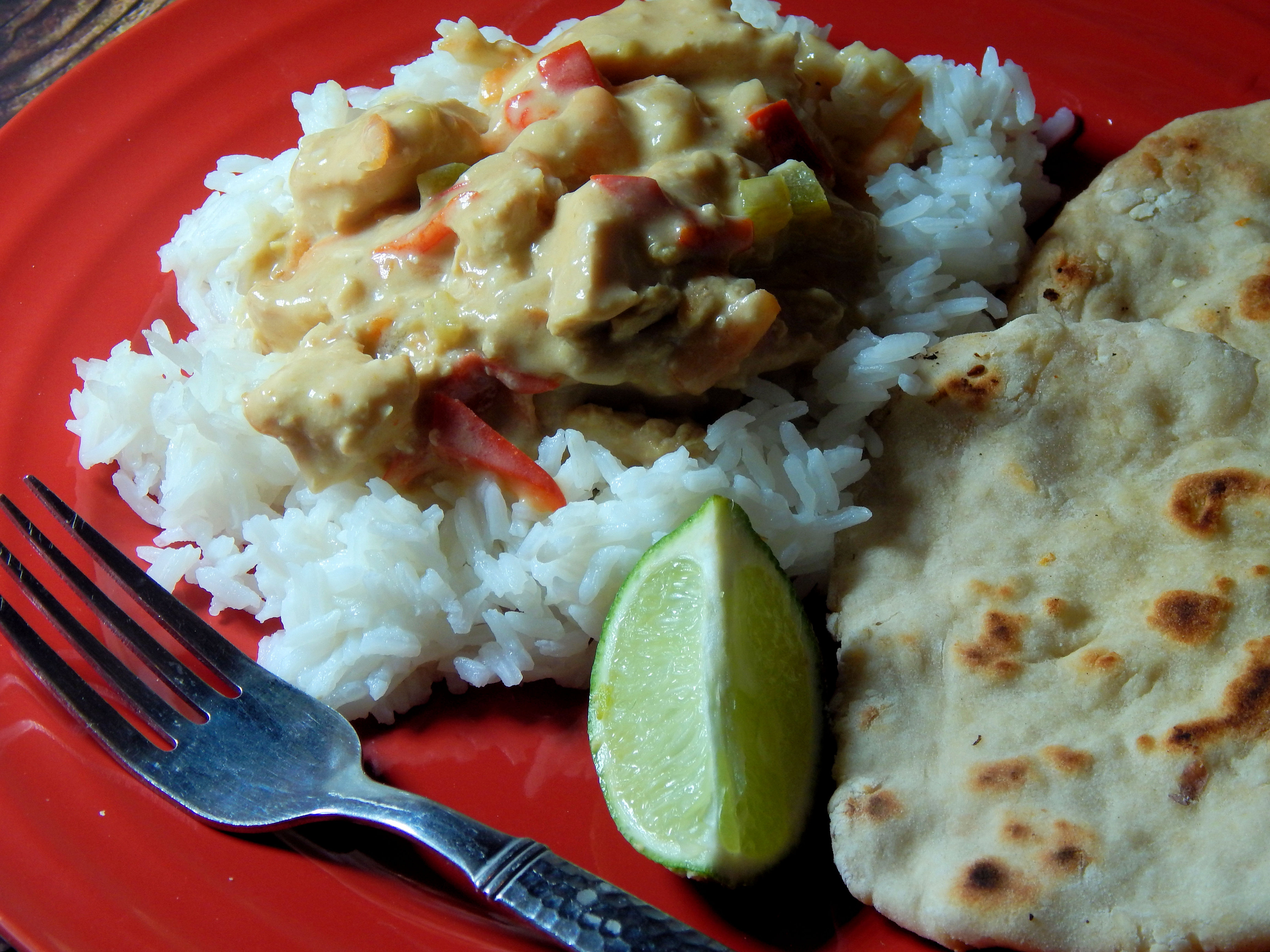 Slow Cooker Thai Green Chicken Curry image