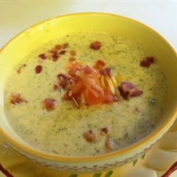 Cheese Soup with Broccoli