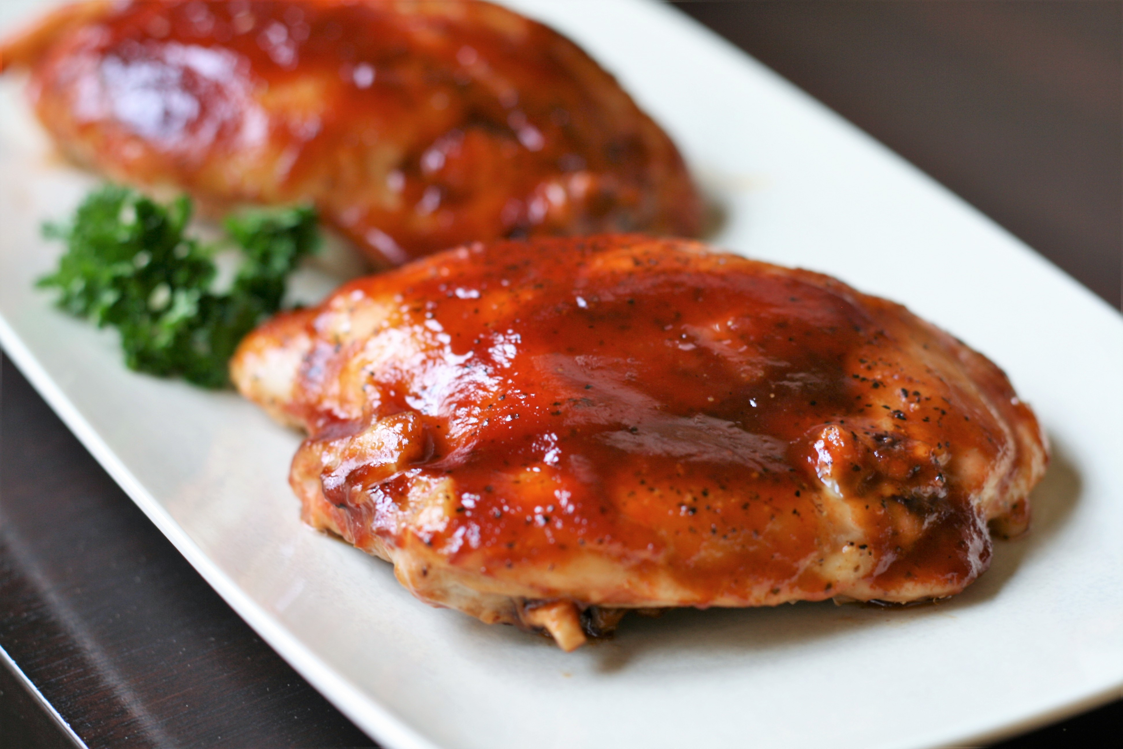 BBQ Chicken Breasts in the Oven_image