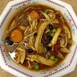 Catherine's Spicy Chicken Soup