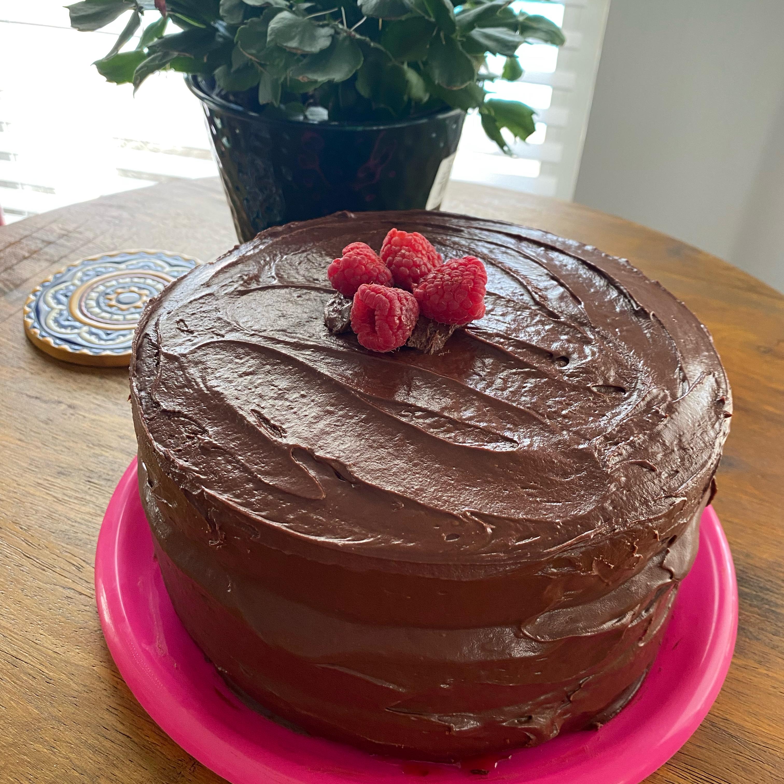 Moist Chocolate Layer Cake image