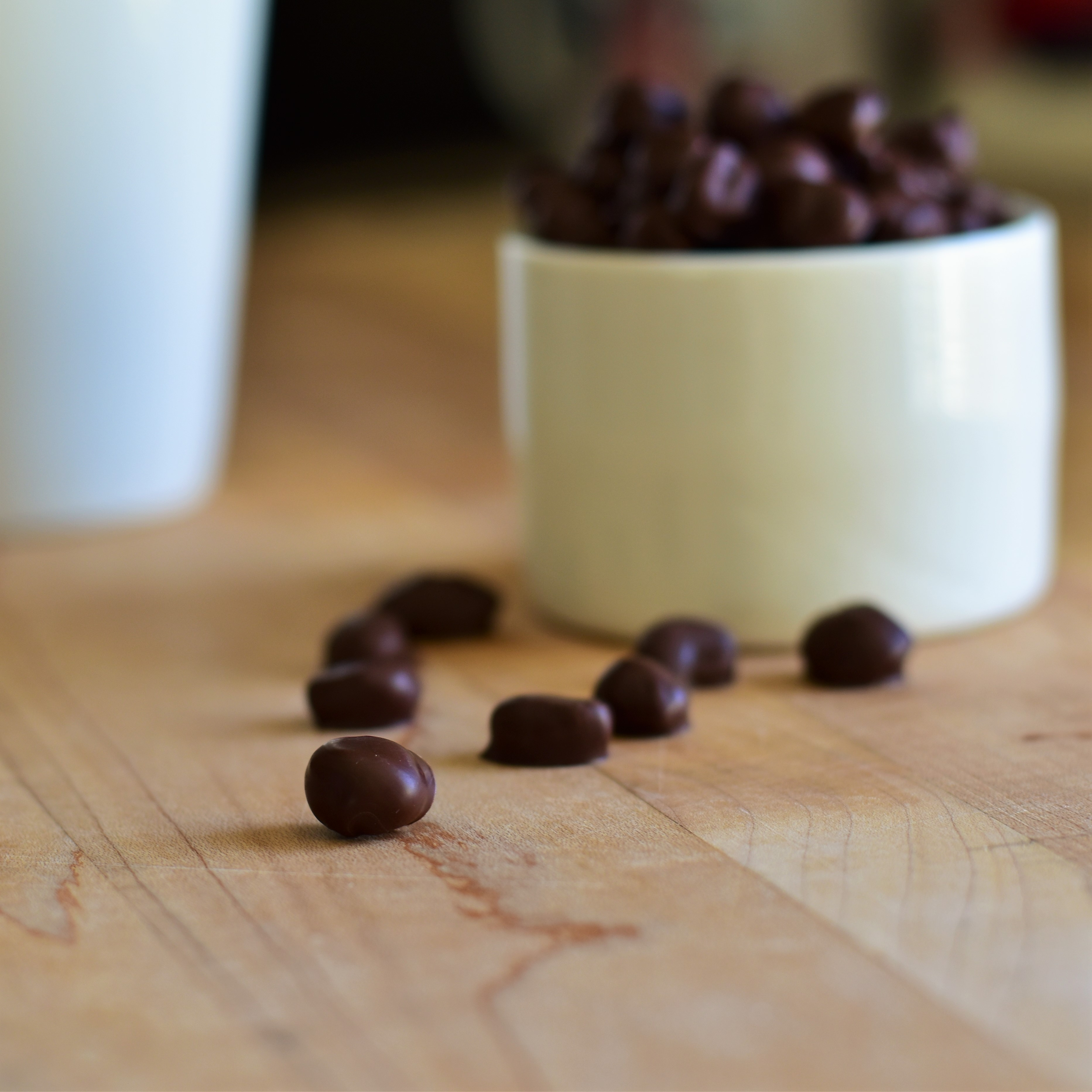 Chocolate-Covered Coffee Beans image