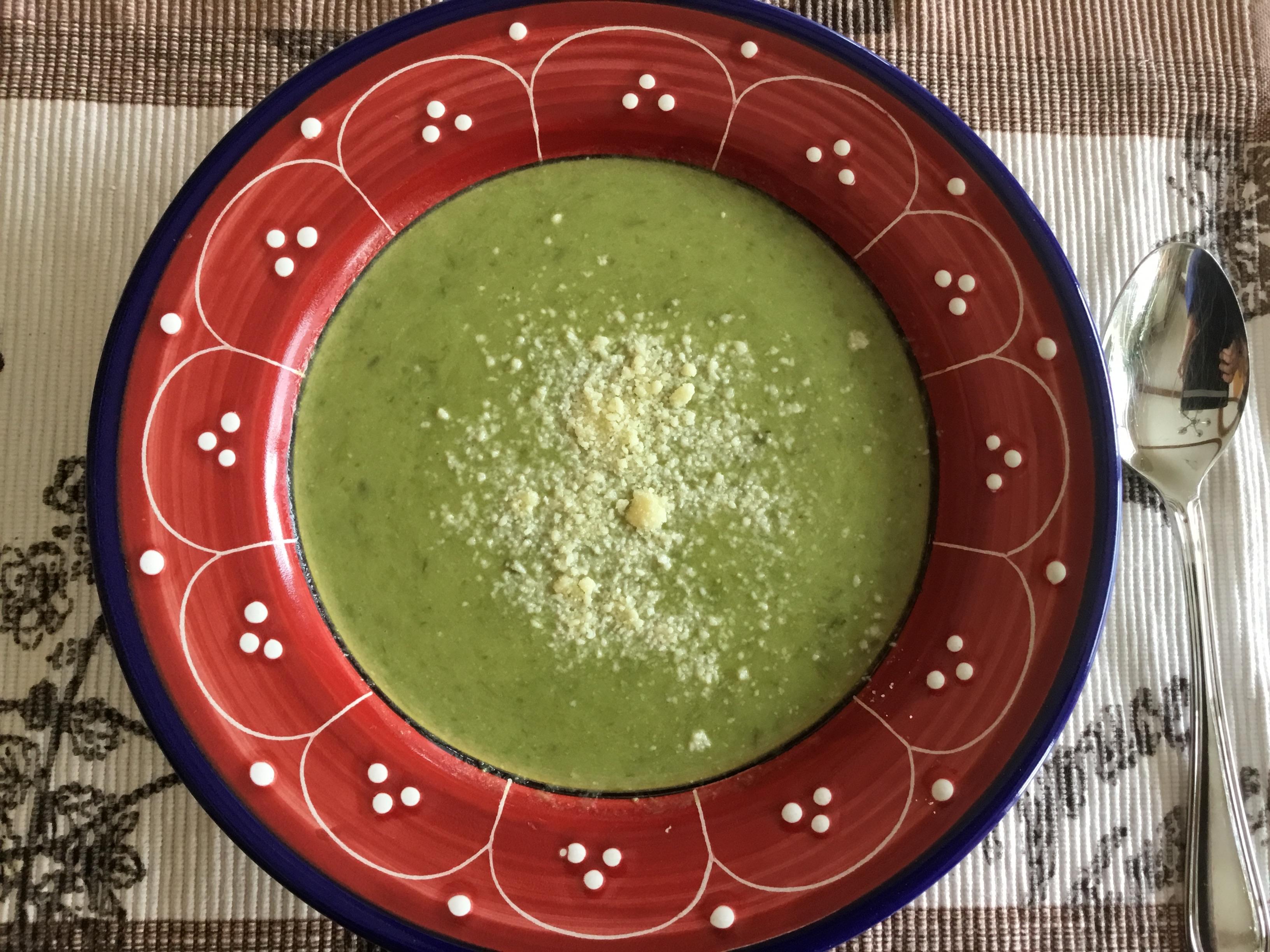 Fresh Asparagus Soup image